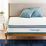 Linenspa 8 Inch Memory Foam...