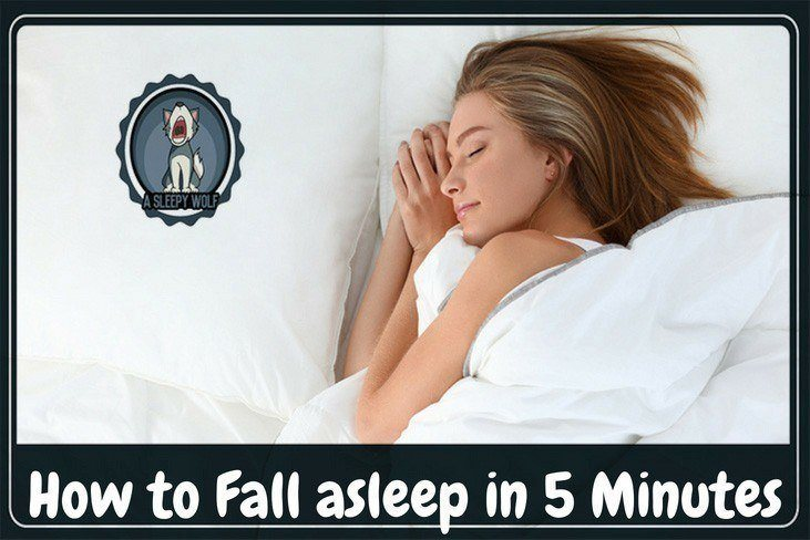 how to fall asleep in 5 minutes