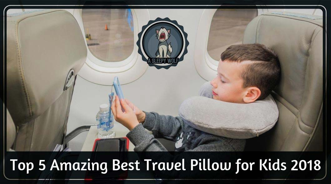Best Travel Pillow For Kids 2019 5 Choices For Comfort