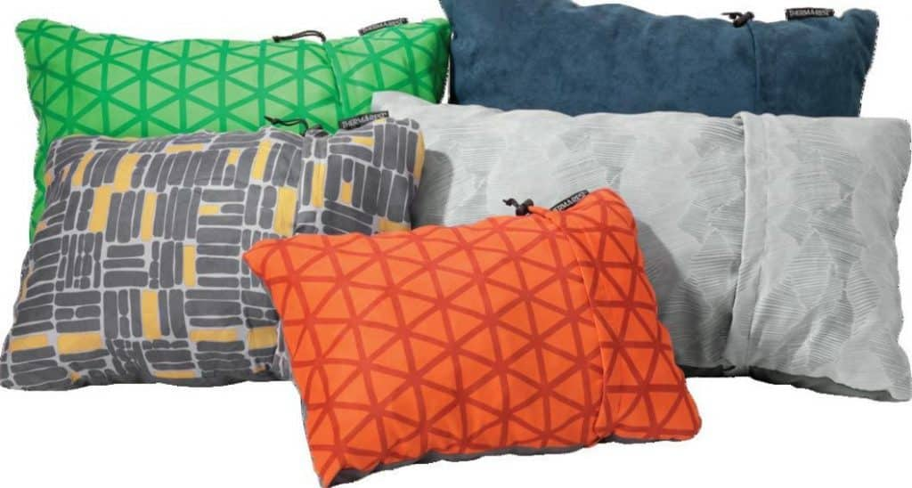 Compressible Pillows - best backpacking pillow