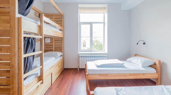Focus on the Bed to Space Saving Guest Bedroom