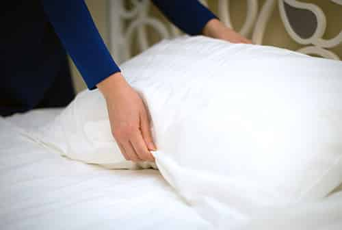wash pillow regularly