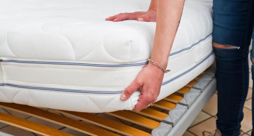 flip mattress for guest room