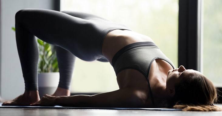 Bridge Pose (Setu Bandha Sarvangasana) - yoga poses for sleep