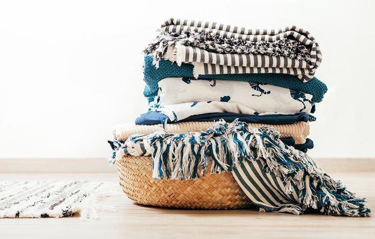 cotton hospital blankets